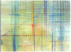 John Otter - 2004 colored pencil, ink, chalk and watercolor on paper, 2004