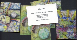 john otter business cards