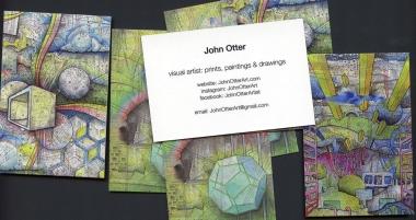 john otter business cards