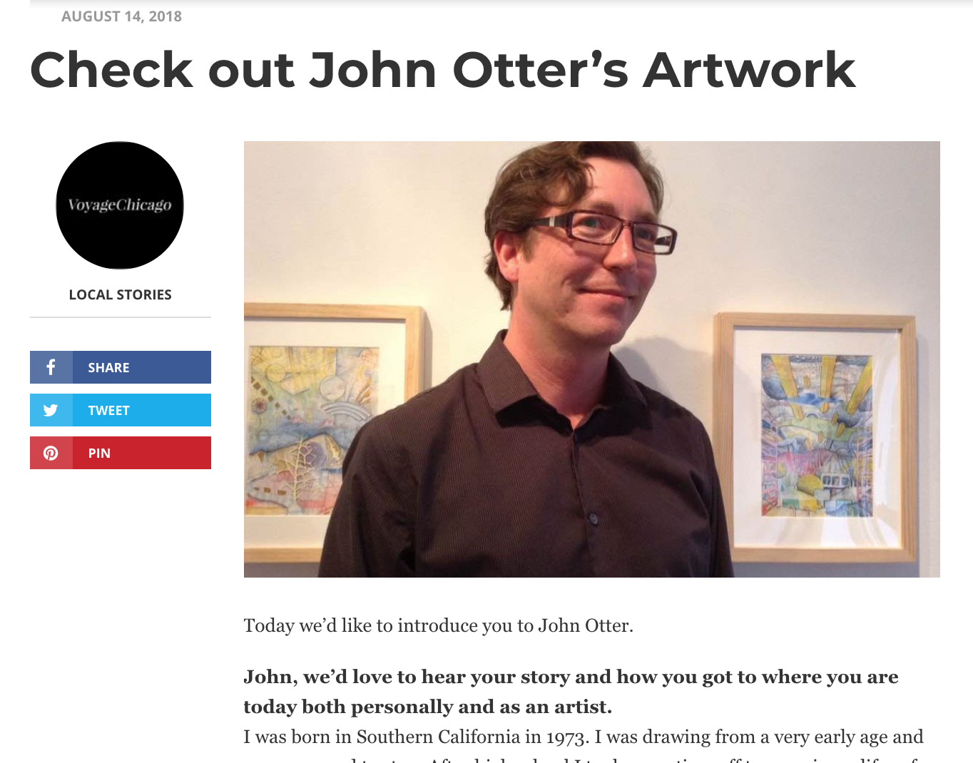 John Otter interview