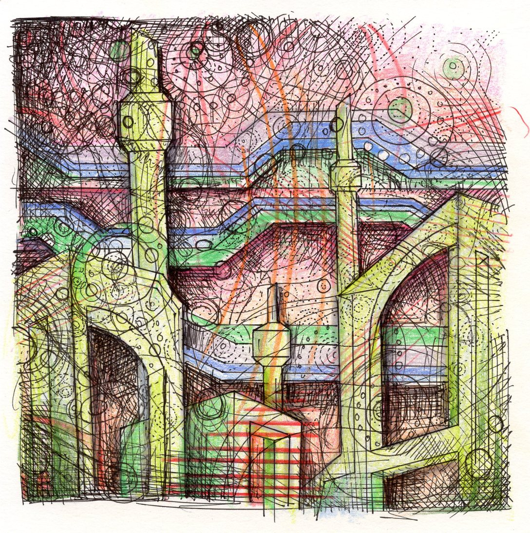 abstract drawing by John Otter