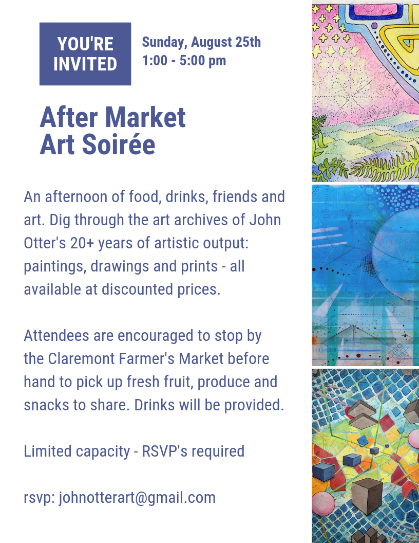 John Otter After Market Art Soirée 2